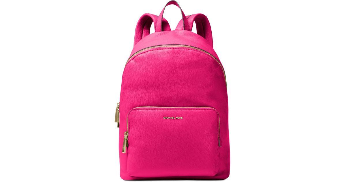 f1a82e6c383c Michael Kors Wythe Large Backpack in Pink - Lyst