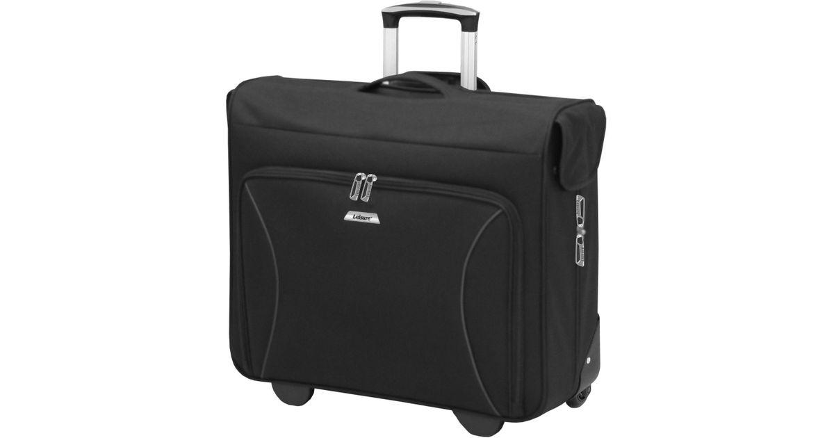 London Fog Black Leisure Vector 44 Wheeled Garment Bag Luggage For Men Lyst