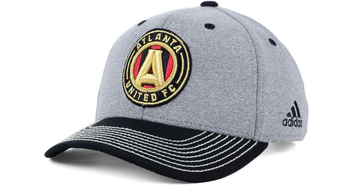 timeless design 209d8 9ab10 adidas Atlanta United Fc Structure Adjustable Cap for Men - Lyst