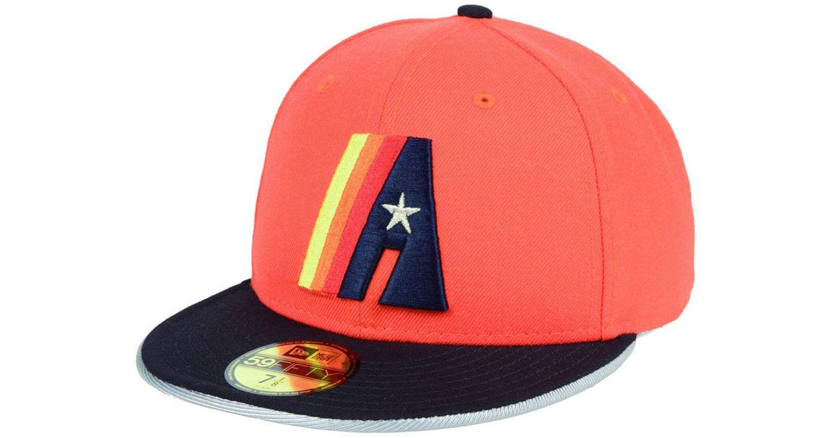 best website 4937d 11c7b KTZ Houston Astros Turn To The Future 59fifty Fitted Cap for Men - Lyst