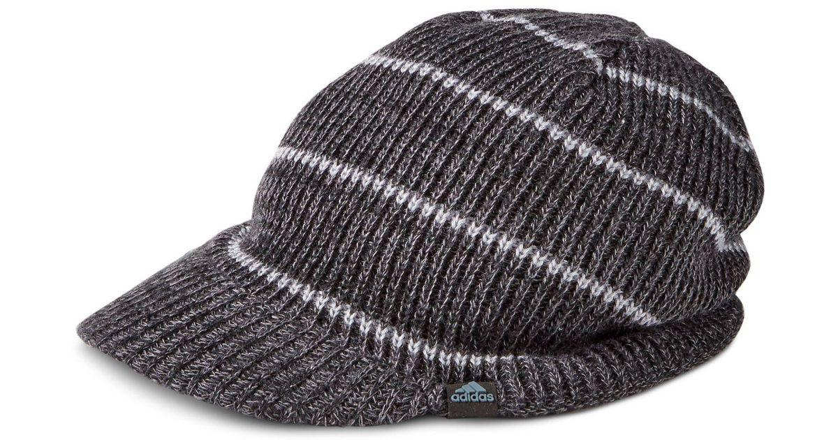 ee08483afce Lyst - adidas Men s Ace Brimmer Beanie in Black for Men