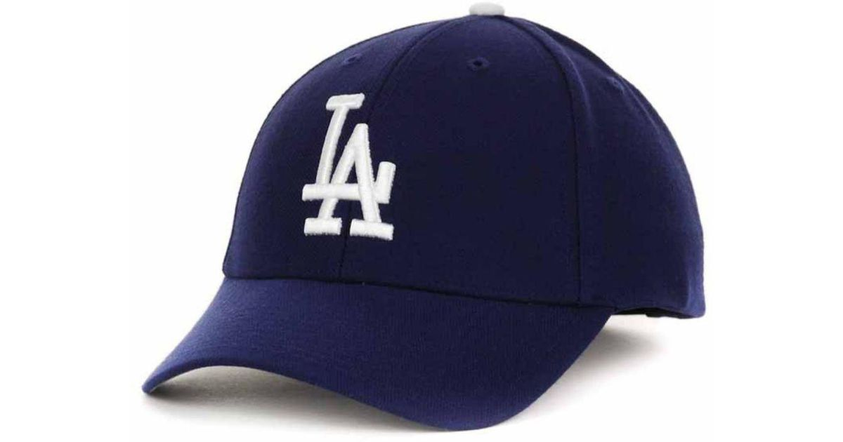 fdcc3c94200 ... new zealand lyst 47 brand los angeles dodgers mlb on field replica mvp  cap in blue