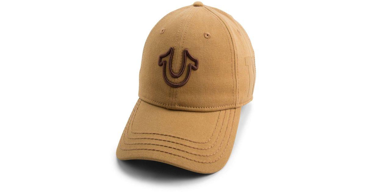6369c646 Lyst - True Religion 3d Embroidered Horseshoe Cap