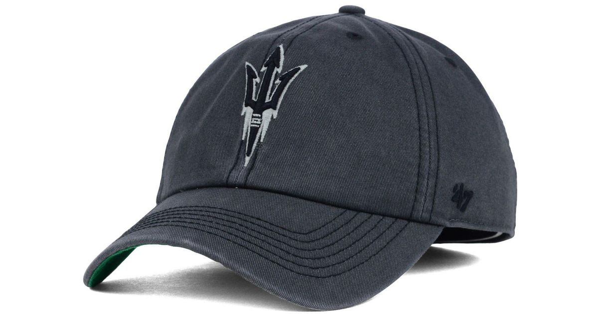 promo code 9645b 7f946 discount 47 brand iowa state cyclones clean up cap lyst b225b ab150  promo  code for lyst 47 brand arizona state sun devils sachem cap in gray for men