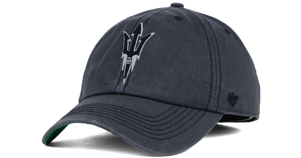 e797b94dd32ef ... promo code for lyst 47 brand arizona state sun devils sachem cap in  gray for men