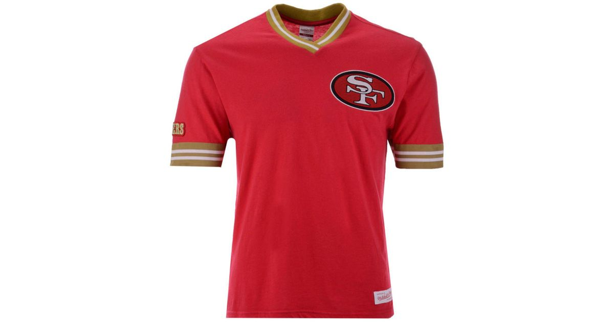 75ce90cc4 Mitchell & Ness San Francisco 49ers Overtime Win Vintage T-shirt in Red for  Men - Lyst