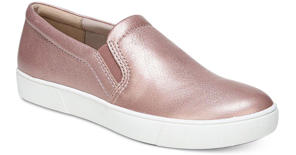 Marianne Metallic Leather Sneakers AiyUV4ZZd