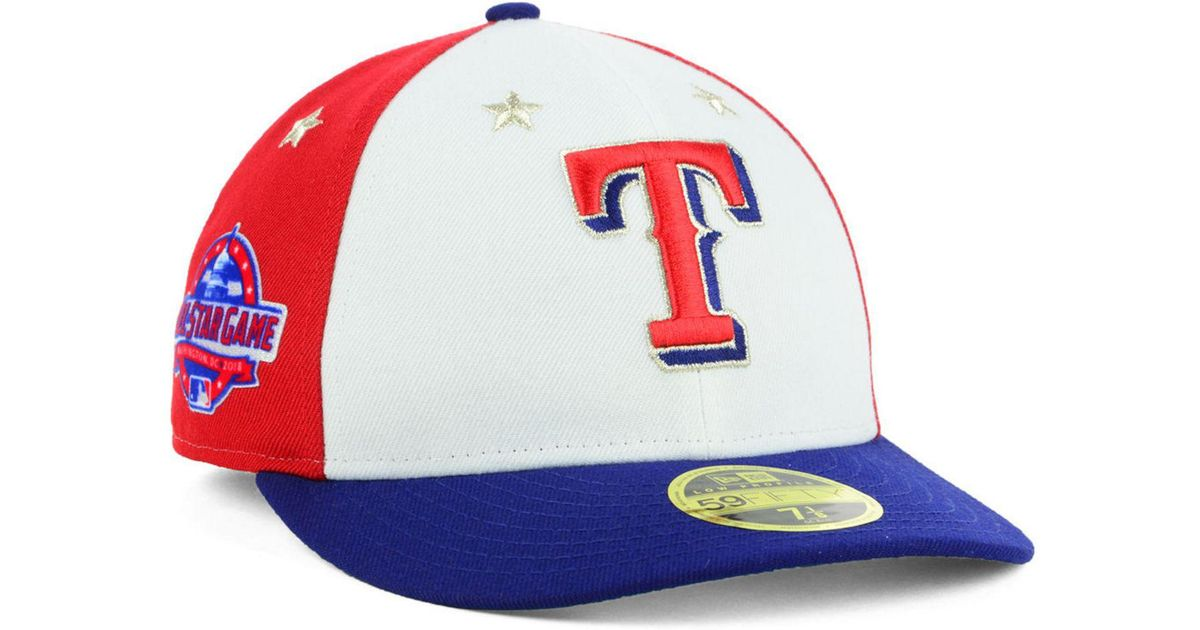 the best attitude 029ba 519a0 KTZ Texas Rangers All Star Game Patch Low Profile 59fifty Fitted Cap 2018  in Blue for Men - Lyst