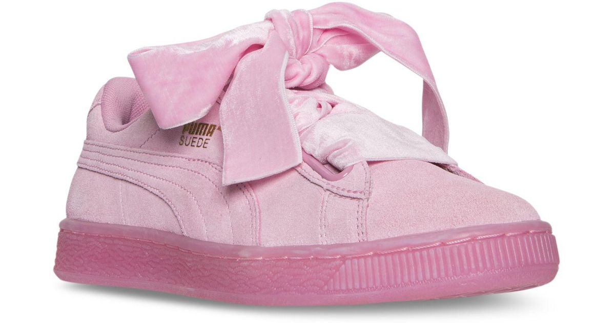 Puma Suede Heart Reset Wmns | Pink | Sneakers | 363229