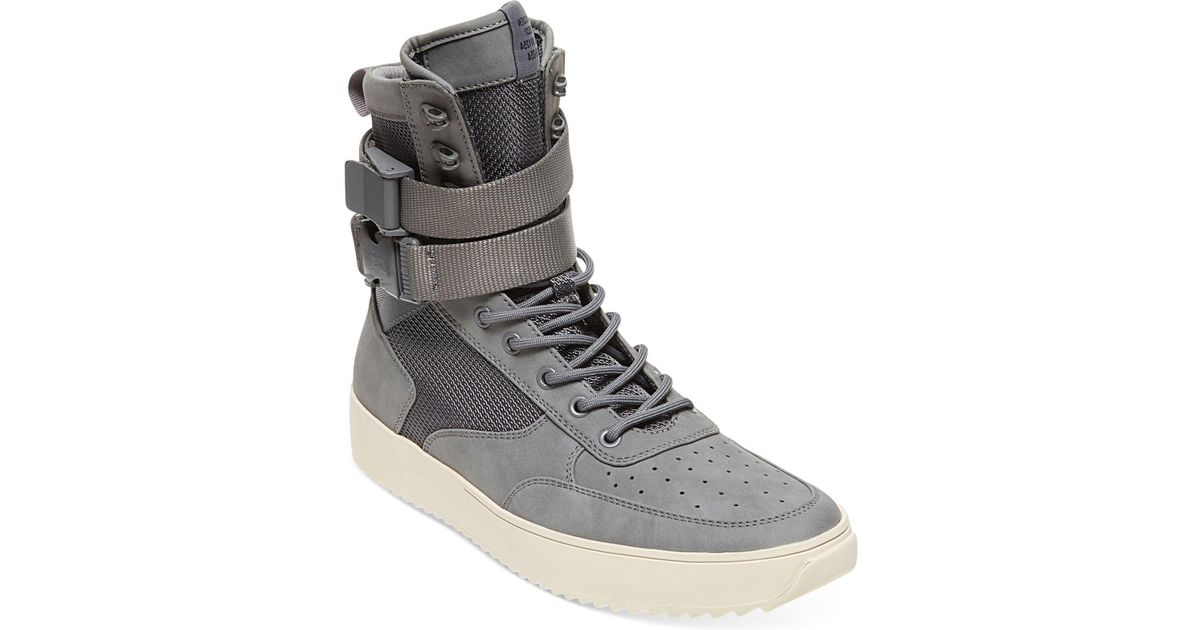 34e684b9d4b Lyst - Steve Madden Men s Zeroday High-top Sneakers in Gray for Men