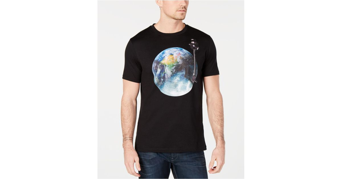 2777648dd BOSS Astronaut Graphic T-shirt in Black for Men - Lyst