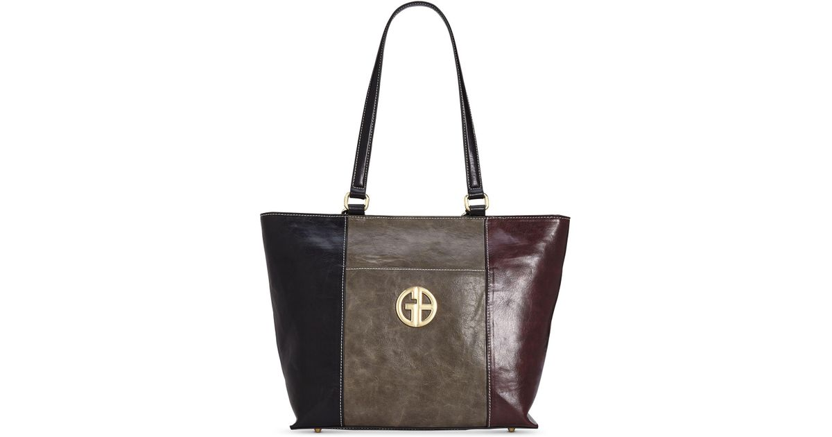 Lyst - Giani Bernini Tricolor Glazed Tote