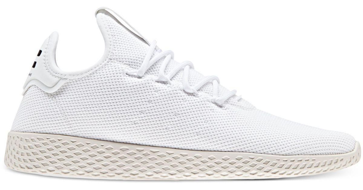 a0ccf792bed52 Lyst - adidas Originals Pharrell Williams Tennis Hu Casual Sneakers From Finish  Line in White for Men
