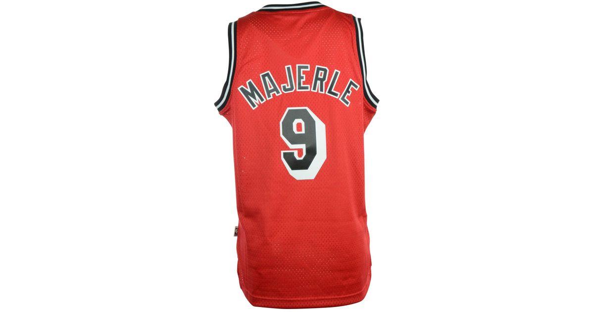 e77b53cb23e Lyst - adidas Men s Dan Majerle Miami Heat Retired Player Swingman Jersey  in Red for Men