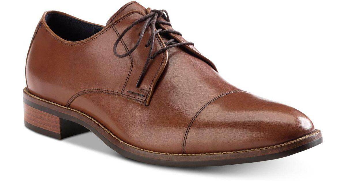 3ddbe8c701e Lyst - Cole Haan Lenox Hill Split Toe Oxfords in Brown for Men