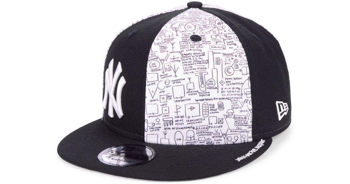Lyst - KTZ New York Yankees Jean-michel Basquiat Collection 9fifty Snapback  Cap in Black for Men 79eba64f4e9