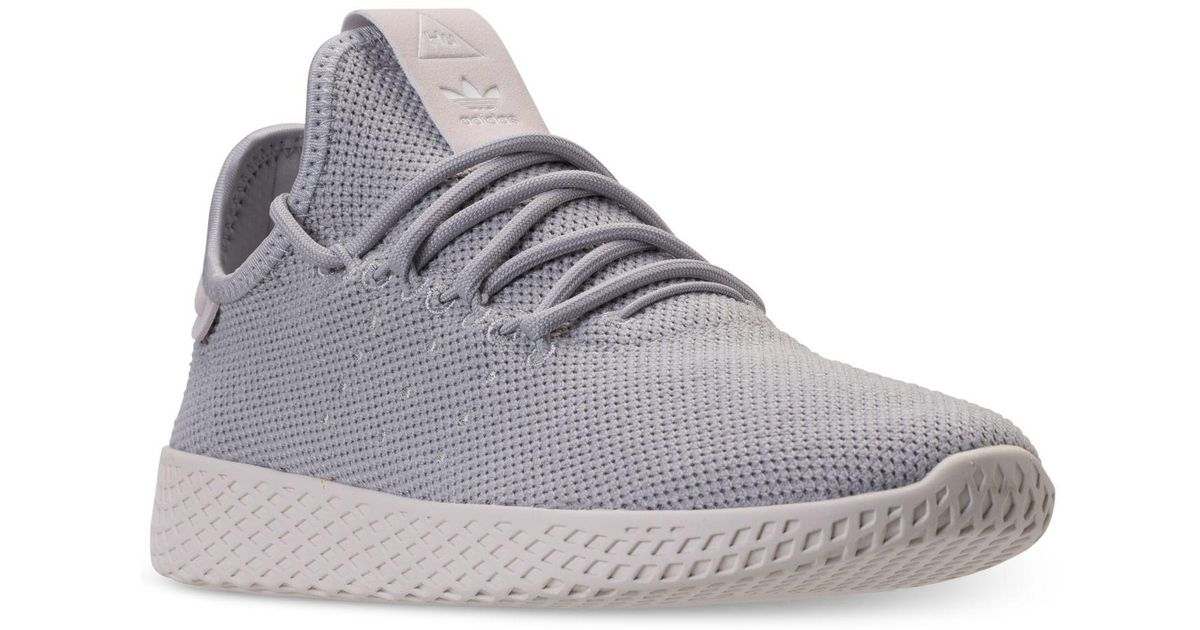 cf8a693a6cade Lyst - adidas Originals Pharrell Williams Tennis Hu Casual Sneakers From  Finish Line in Gray for Men