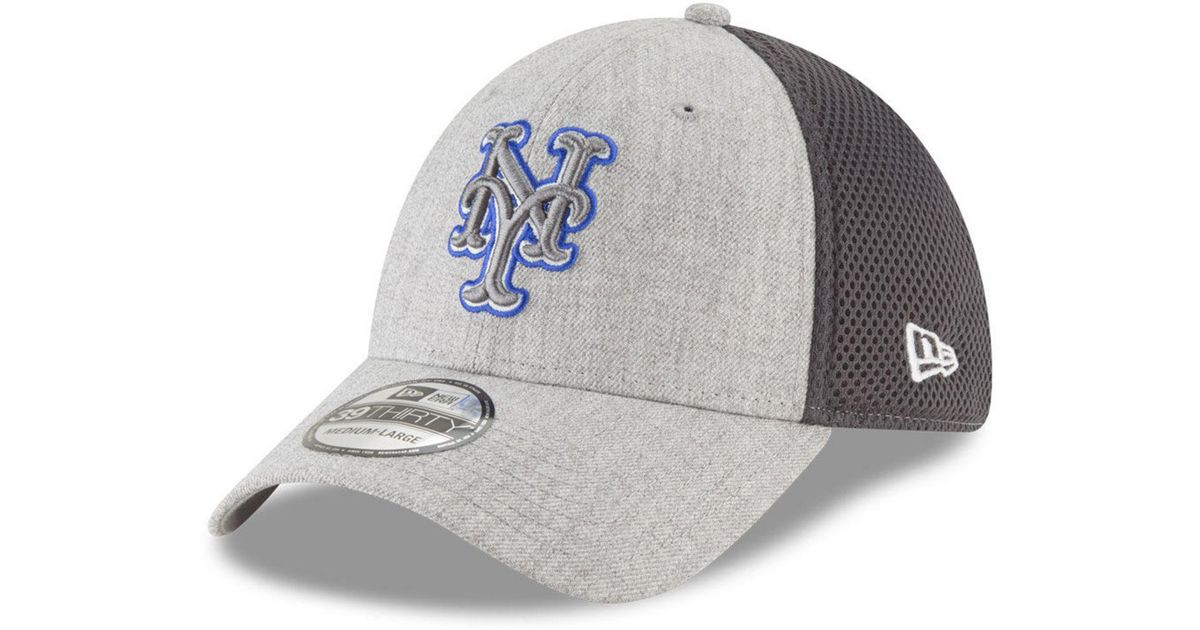 pretty nice e1151 992fe ... canada lyst ktz new york mets heather pop neo 39thirty cap in gray for  men dffce