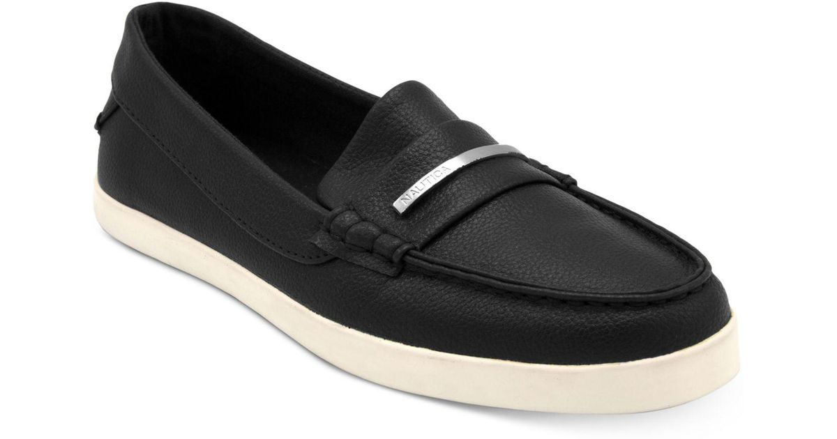 Nautica Women's Elmont Loafer Flats Women's Shoes f4Oxy