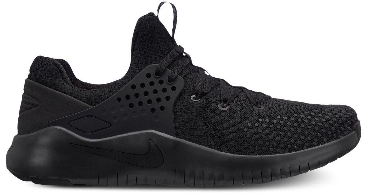 87fb203e13da9 Lyst - Nike Free Trainer V8 Training Sneakers From Finish Line in Black for  Men