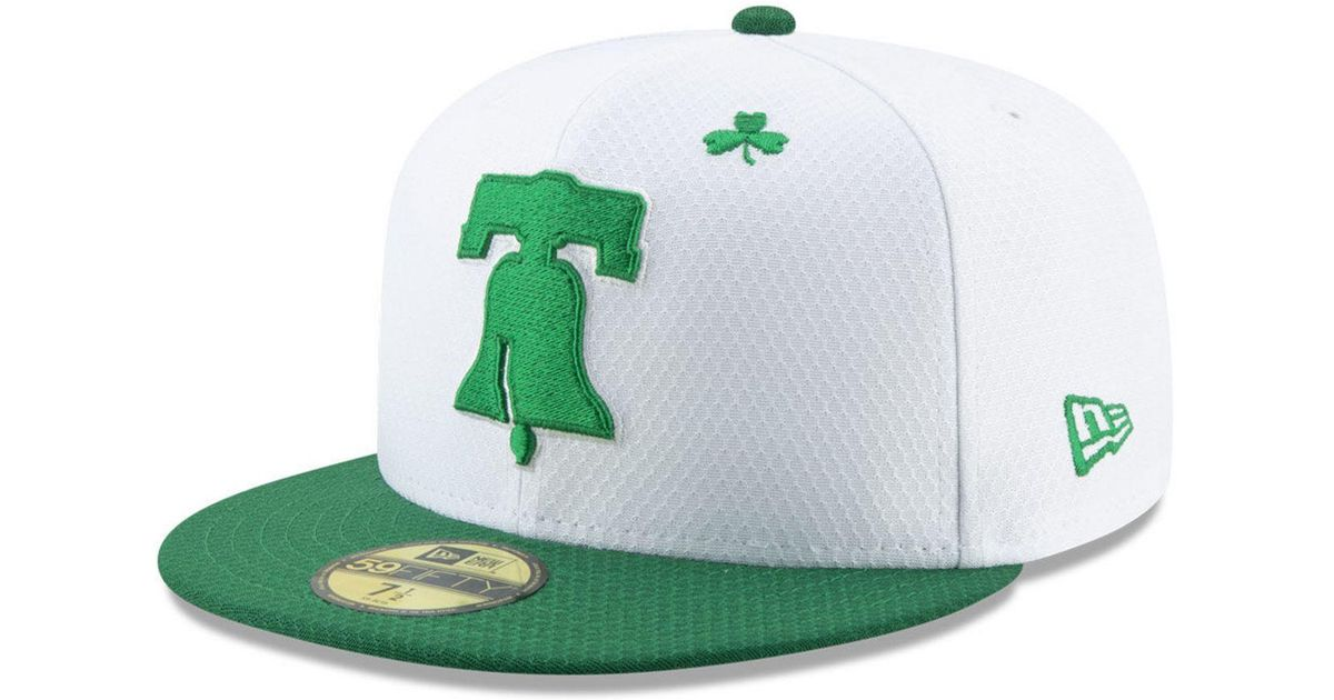 the best attitude e2445 cf597 Lyst - KTZ Philadelphia Phillies St. Pattys Day 59fifty-fitted Cap in Green  for Men
