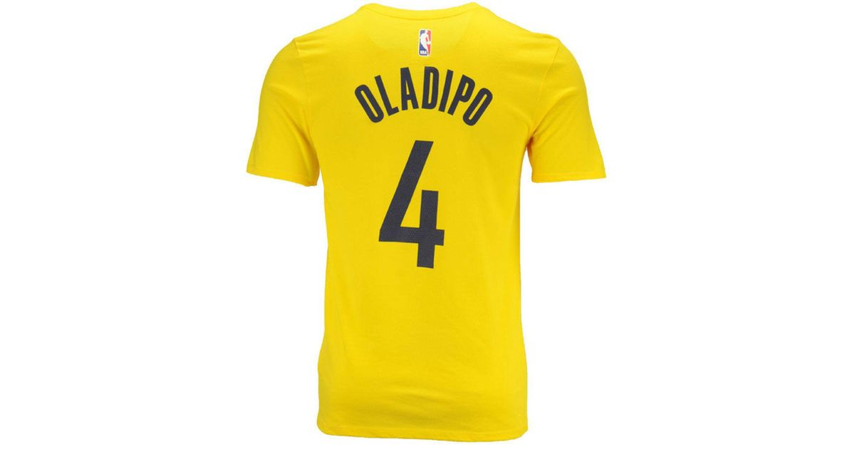 75694d392 Lyst - Nike Victor Oladipo Indiana Pacers Statement Player T-shirt in  Yellow for Men
