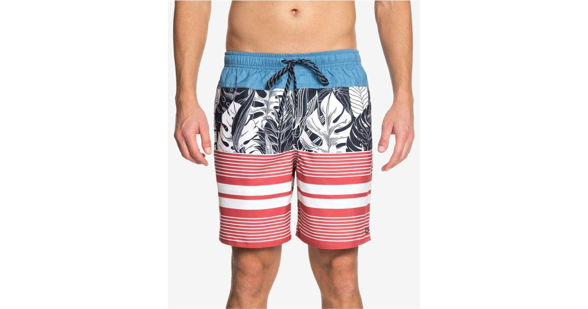 6493d676e8 Lyst - Quiksilver Waterman Jungle Thinking Printed 6