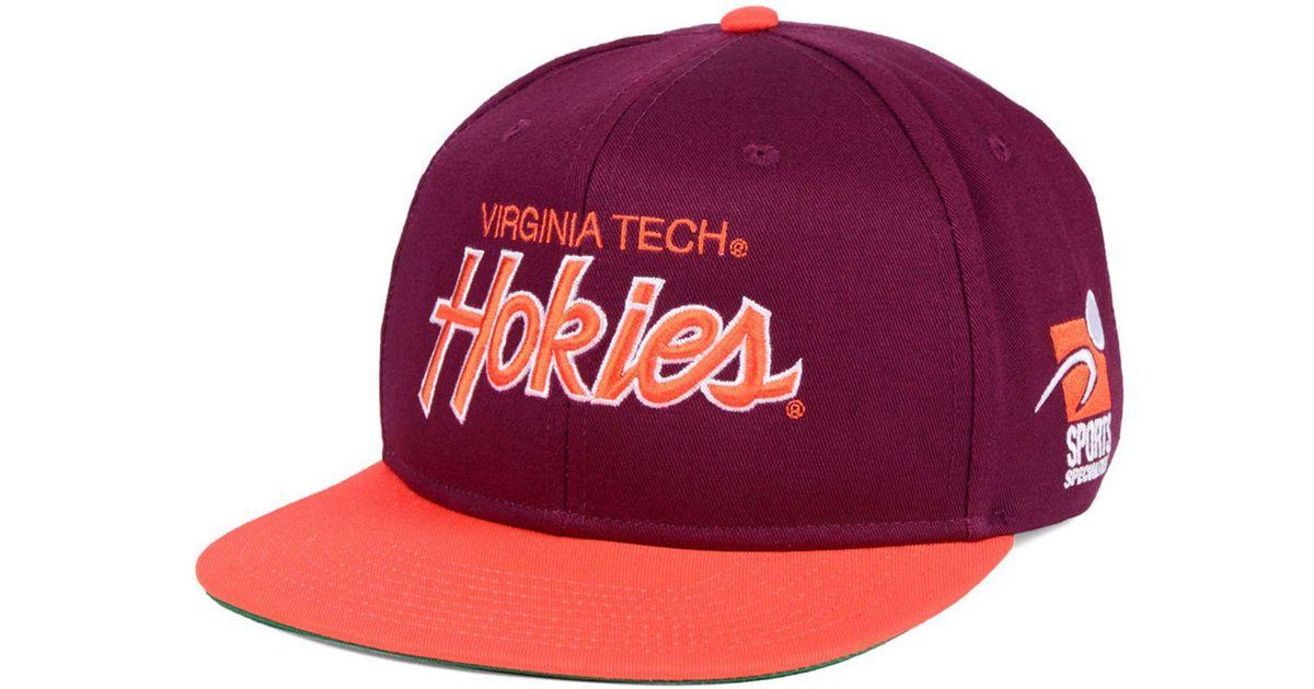 new arrival df8d4 2dced ... closeout wholesale lyst nike virginia tech hokies sport specialties  snapback cap for men 323c3 e4cc7 e7189