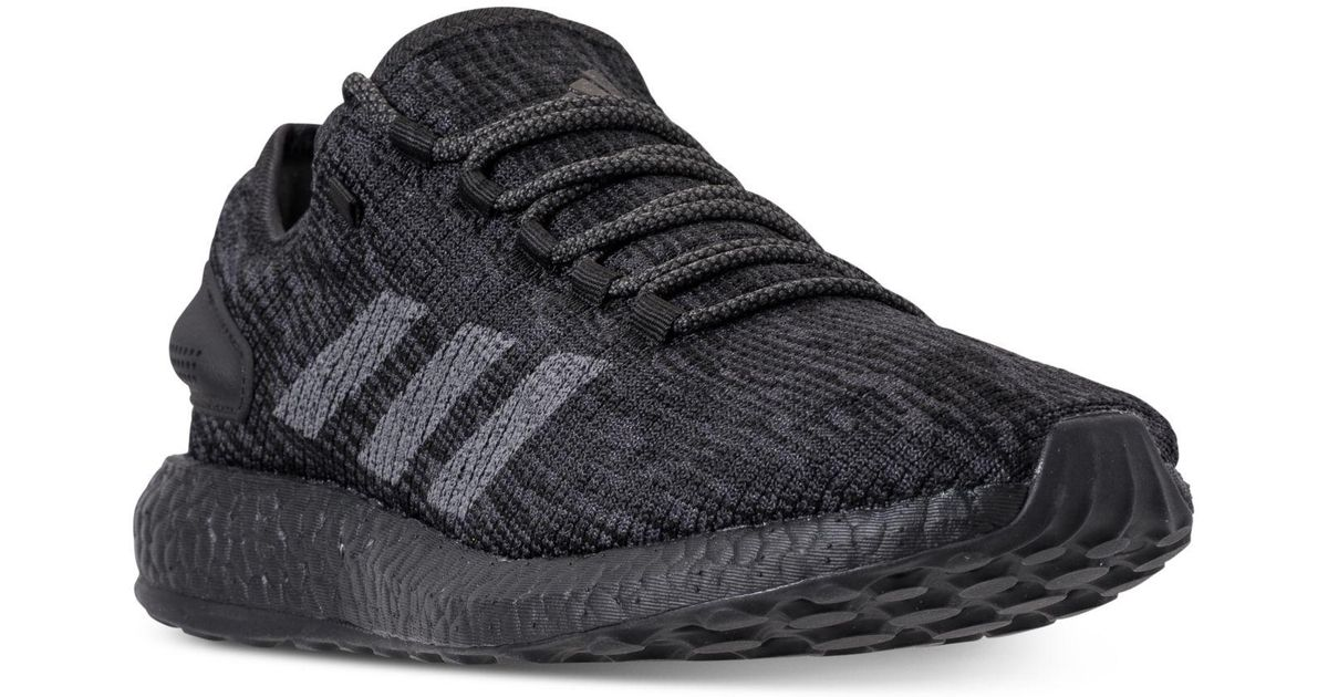 15eb8329842c8 Lyst - adidas Pureboost Cb Running Sneakers From Finish Line in Black for  Men