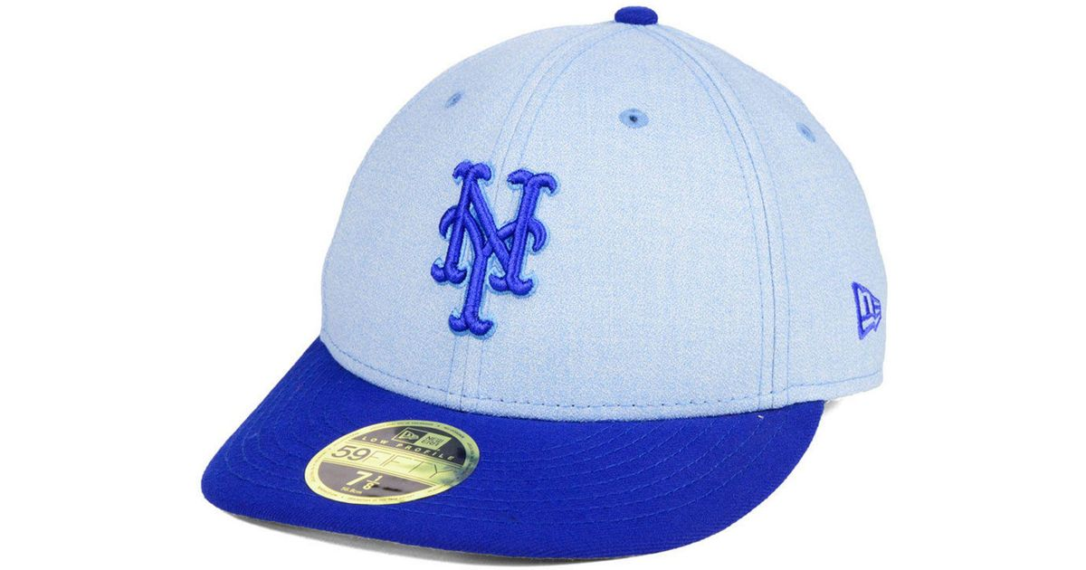 8546ac59817a8 ... czech lyst ktz new york mets fathers day low profile 59fifty cap in  blue for men
