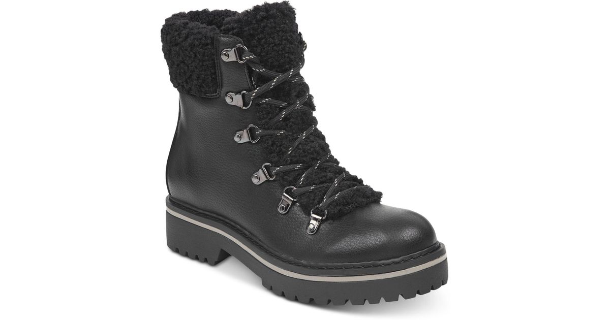 67d45b9be7d1f5 Lyst - Tommy Hilfiger Ron Lace-up Winter Boots in Black