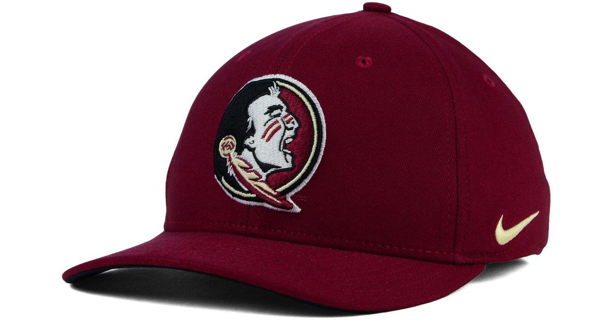 meet cf3a8 57223 ... france lyst nike florida state seminoles classic swoosh cap in red for  men b3250 ddf2a