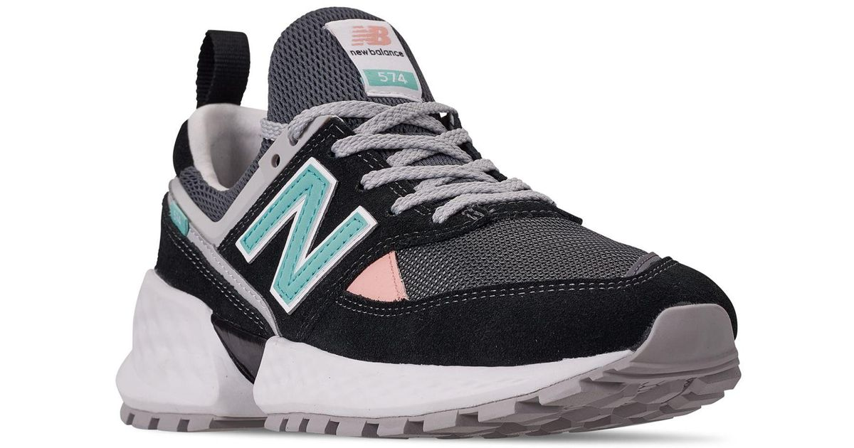 Lyst - New Balance 574 Sport V2 90s Casual Sneakers From Finish Line in  Black for Men 6e37062b775d6