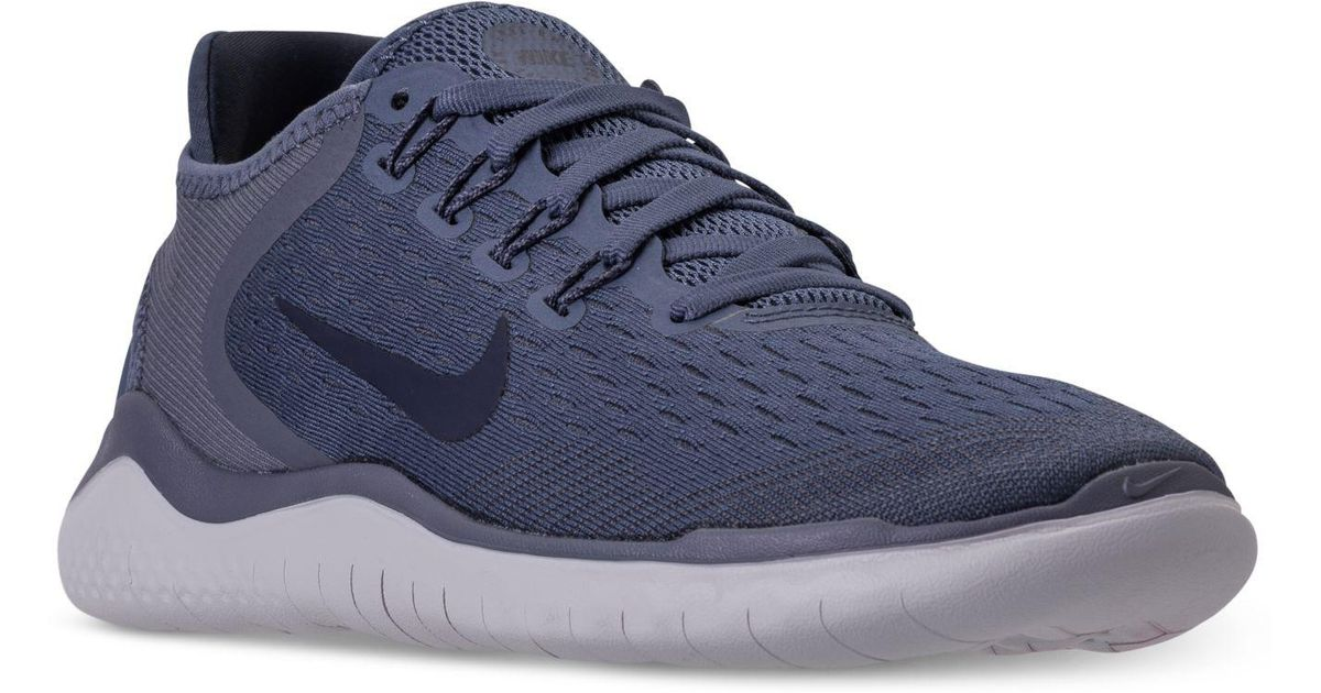 Lyst - Nike Free Run 2018 Running Sneakers From Finish Line in Blue 918a51c8db