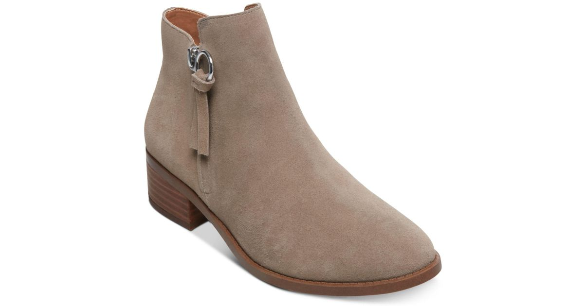 da09a30a8d3 Lyst - Steve Madden Dacey Ankle Booties in Brown