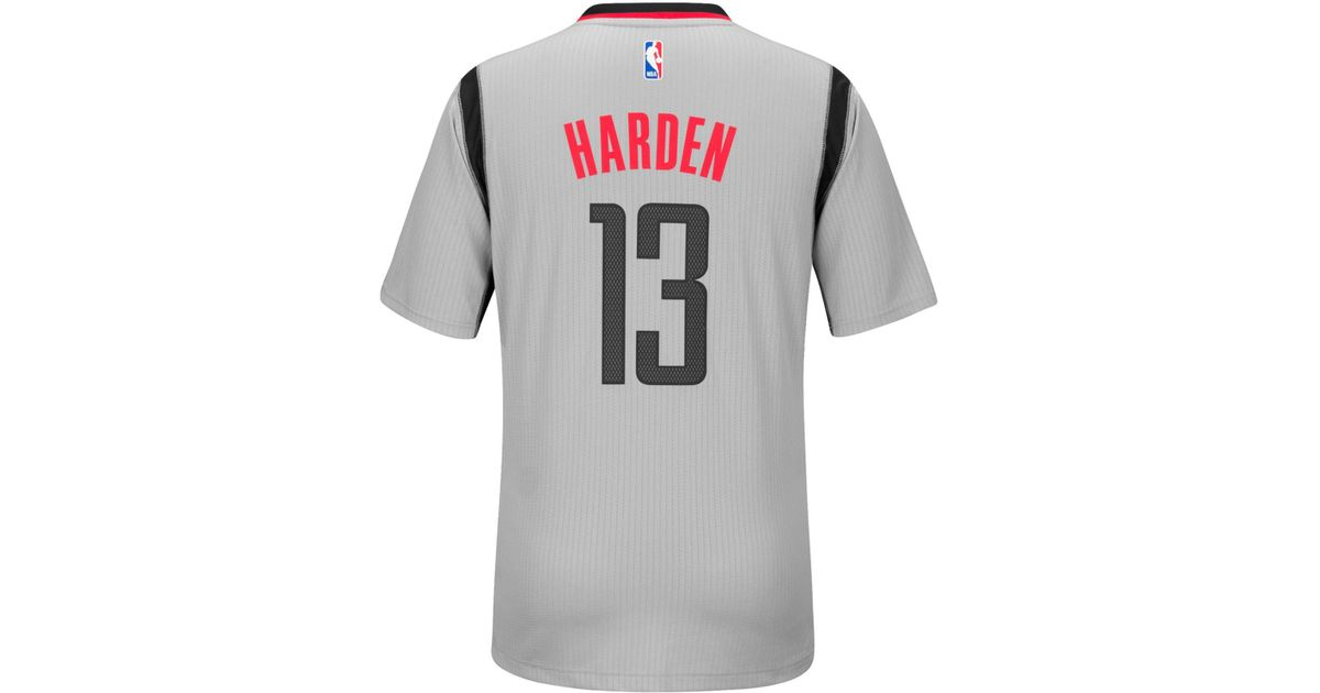 finest selection 0304e 66e0c Adidas Originals - Gray Men's James Harden Houston Rockets New Swingman  Jersey for Men - Lyst