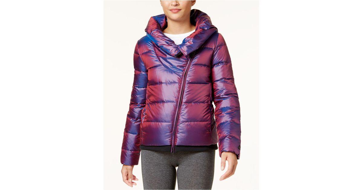 0ddfe0463f Lyst - Nike Sportswear Puffer Down Jacket in Purple