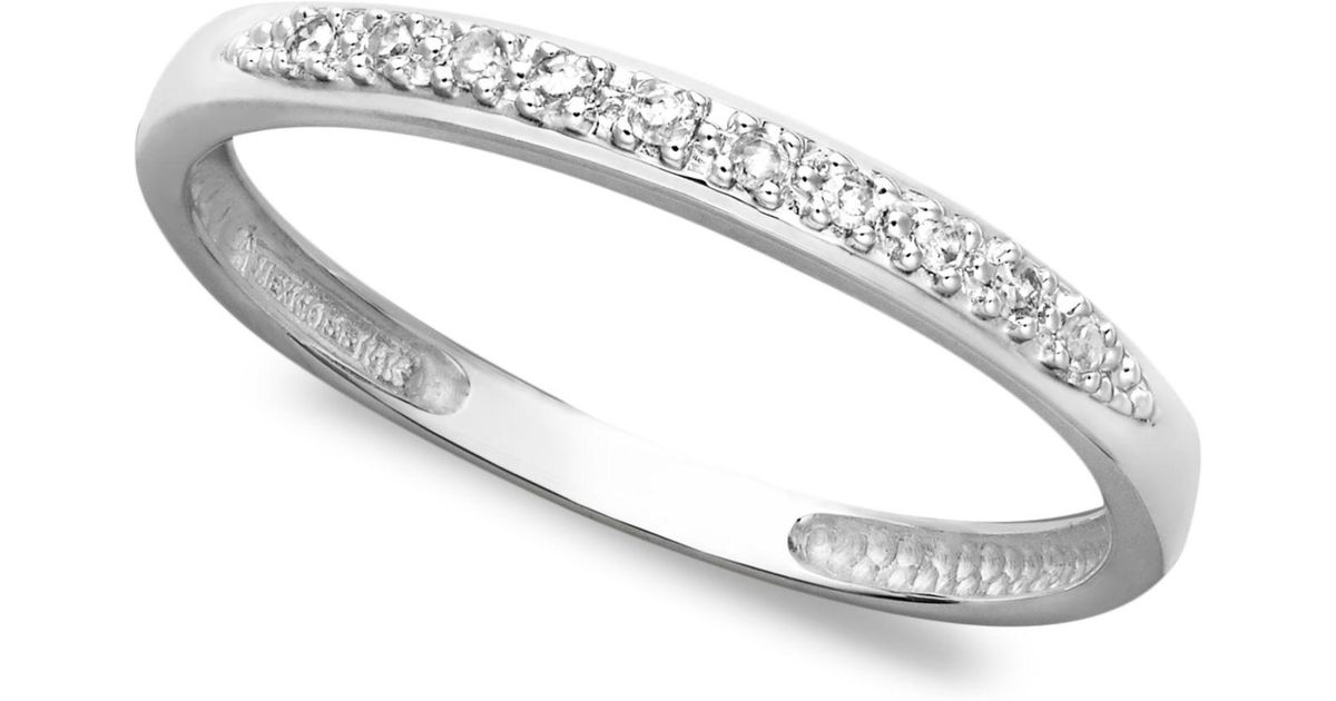 diamond rings ring full bands band pave three mazal twined