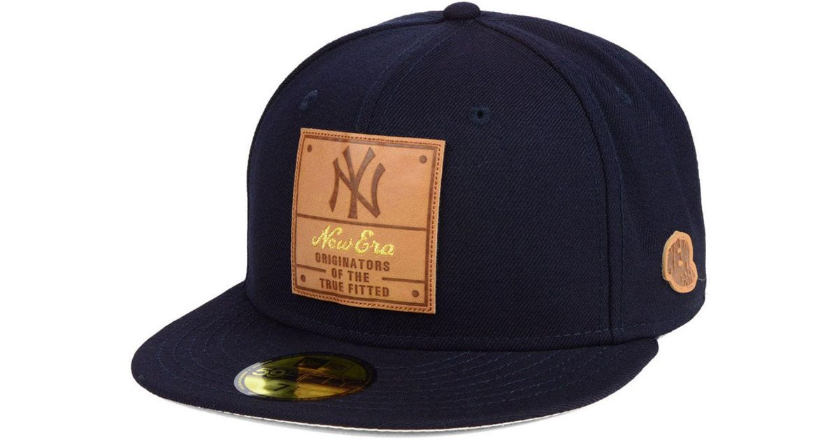 Lyst - KTZ New York Yankees Vintage Team Color 59fifty Fitted Cap in Blue  for Men 4da6d718281