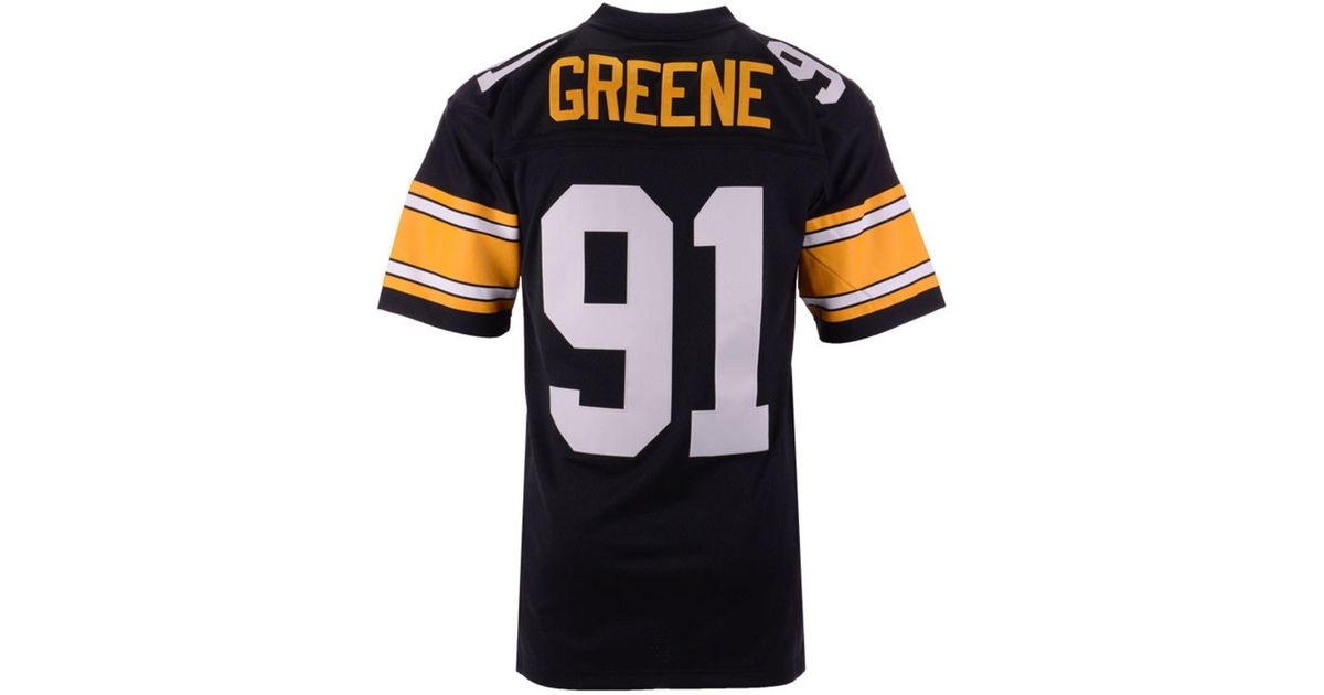 e50a19785d2 Mitchell & Ness Kevin Greene Pittsburgh Steelers Replica Throwback Jersey  in Black for Men - Lyst