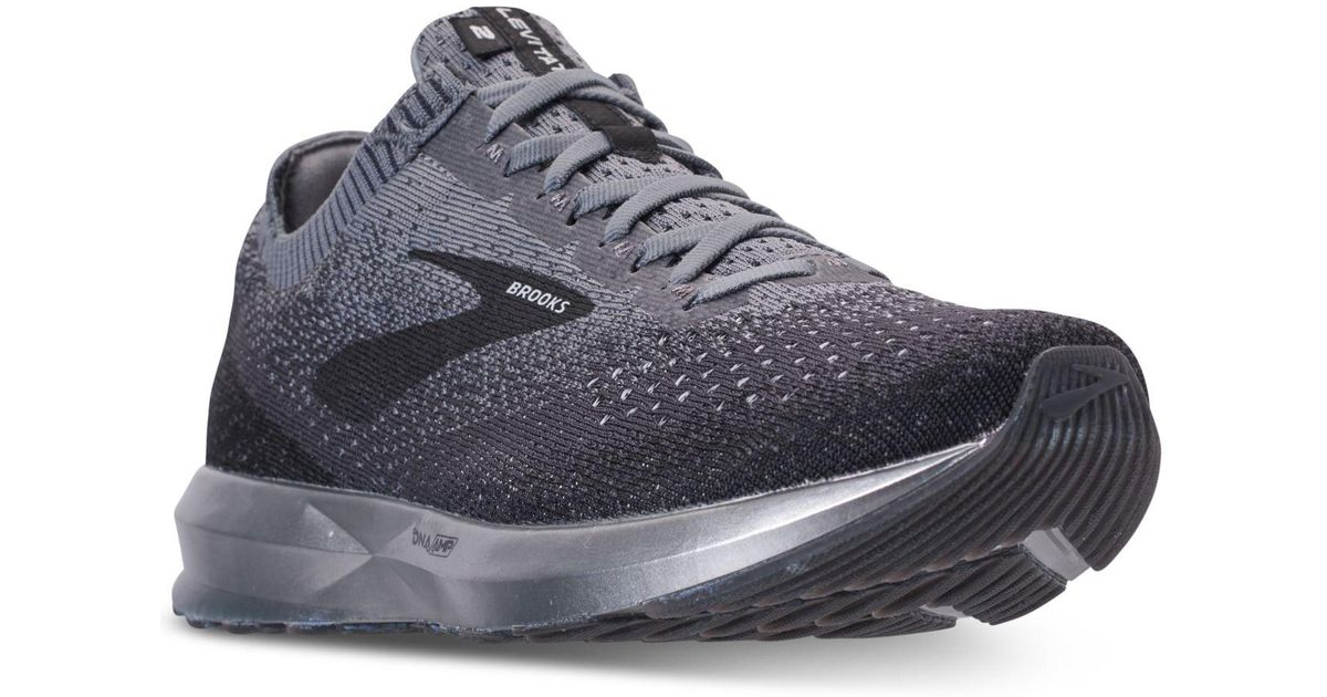 a2be50f806124 Lyst - Brooks Levitate 2 Running Sneakers From Finish Line in Gray for Men