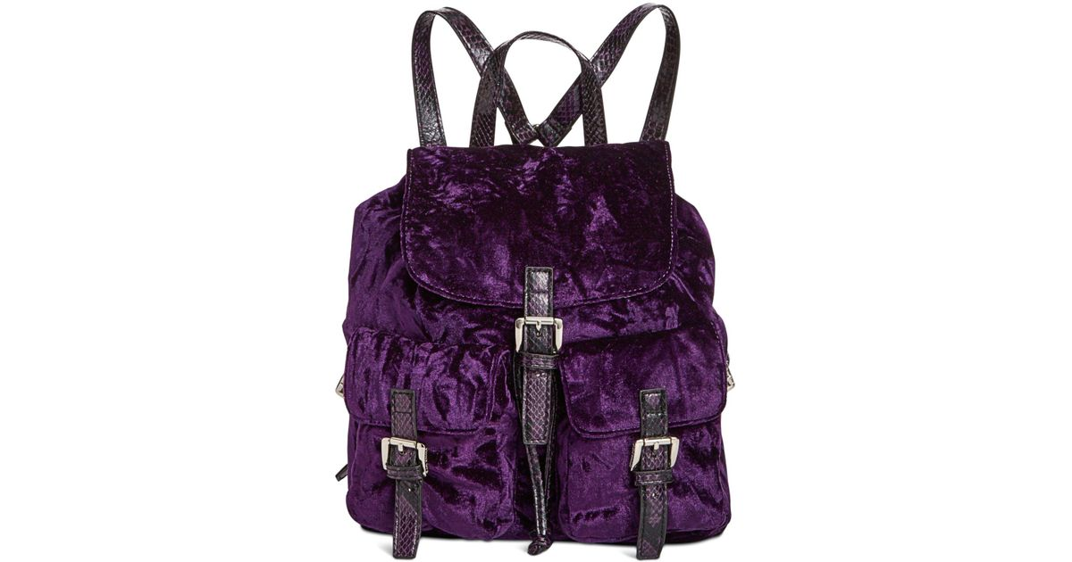 16fb5be823 Steve Madden Earl Small Backpack in Purple - Lyst
