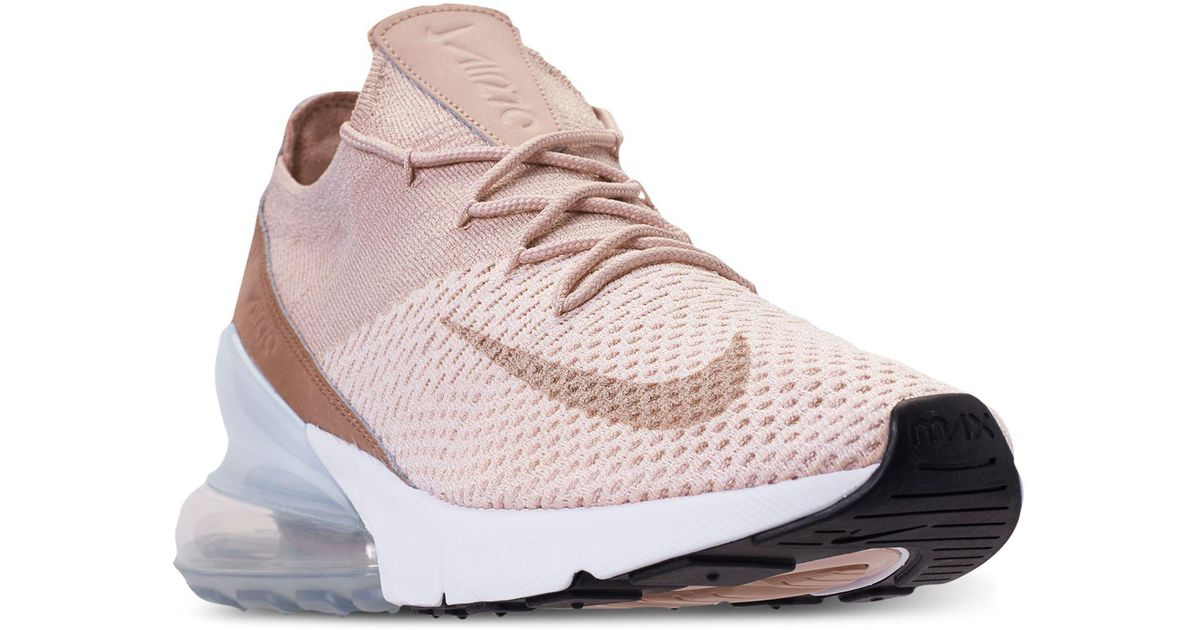 Nike Air Max 270 Flyknit Sneaker Low Guava IceParticle