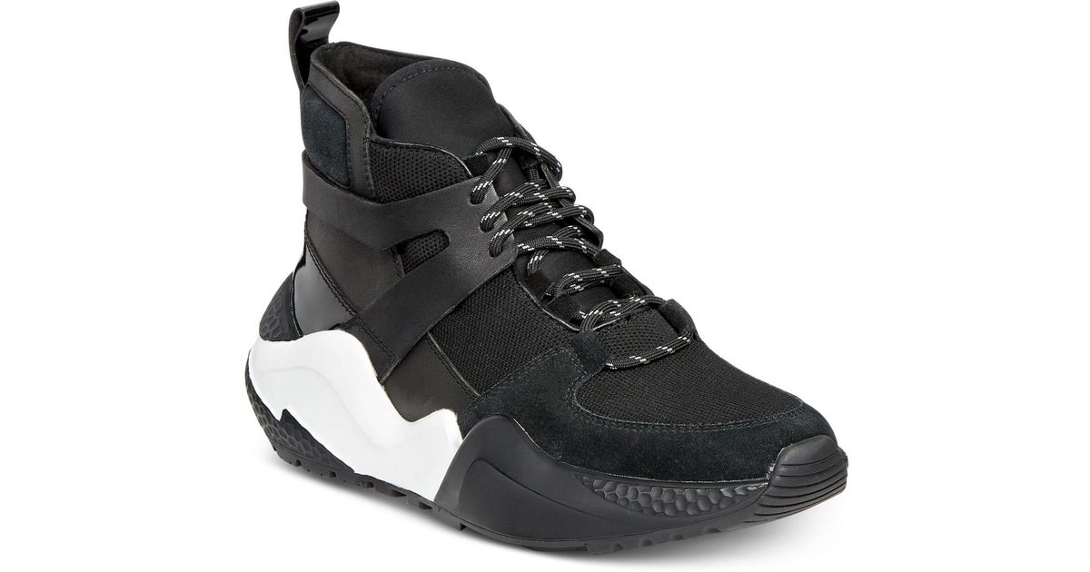 d78e45e784d Lyst - Kenneth Cole Maddox Hiker Sneakers in Black
