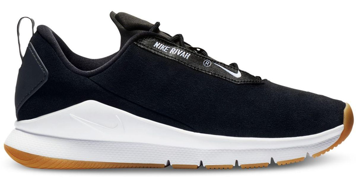 hot sale online 66f80 0a5e6 Lyst - Nike Rivah Premium Casual Sneakers From Finish Line i