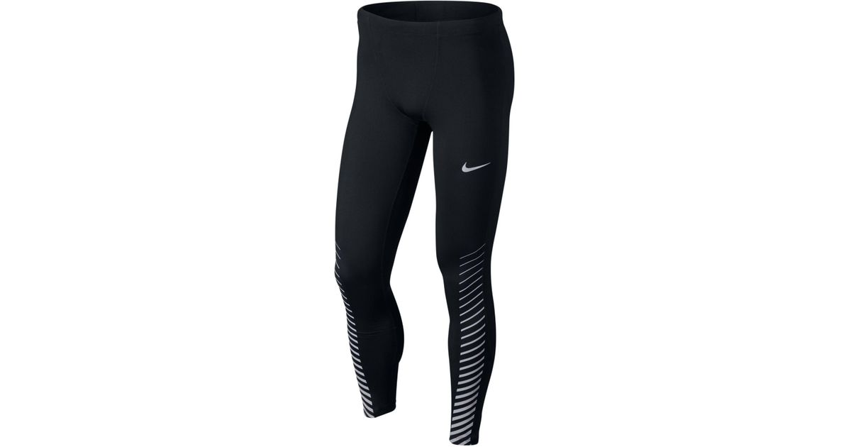 63158ff564af3 Nike Men's Power Printed Compression Running Leggings in Black for Men -  Lyst
