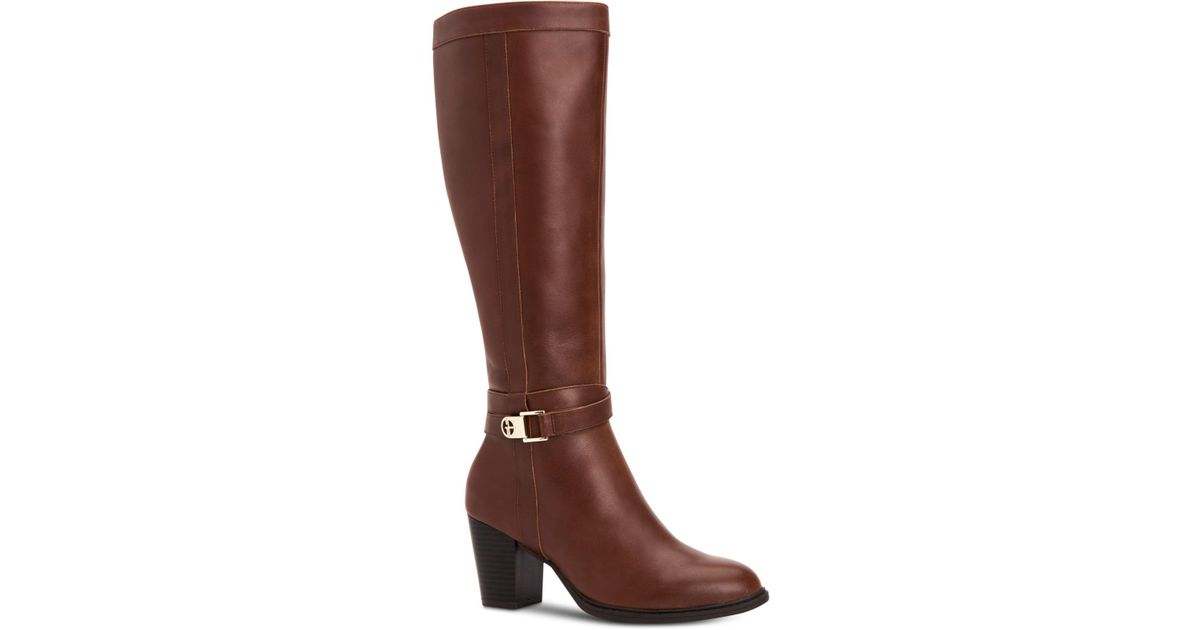 40e6bca4ecc Lyst - Giani Bernini Rozario Memory-foam Wide-calf Dress Boots ...