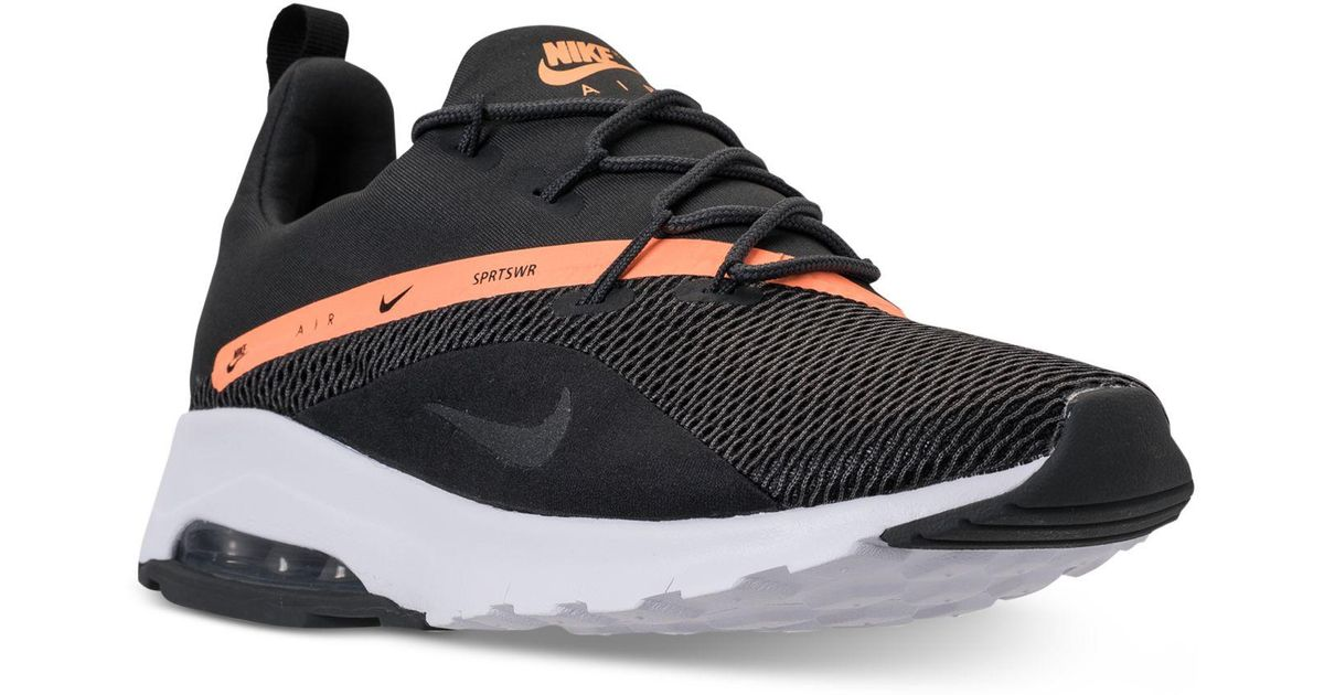 5fb5012d3 Lyst - Nike Air Max Motion Racer 2 Running Sneakers From Finish Line in  Black