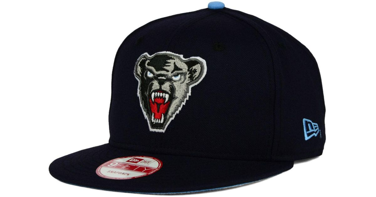 Lyst - KTZ Maine Black Bears Core 9fifty Snapback Cap in Blue for Men 542b029b310