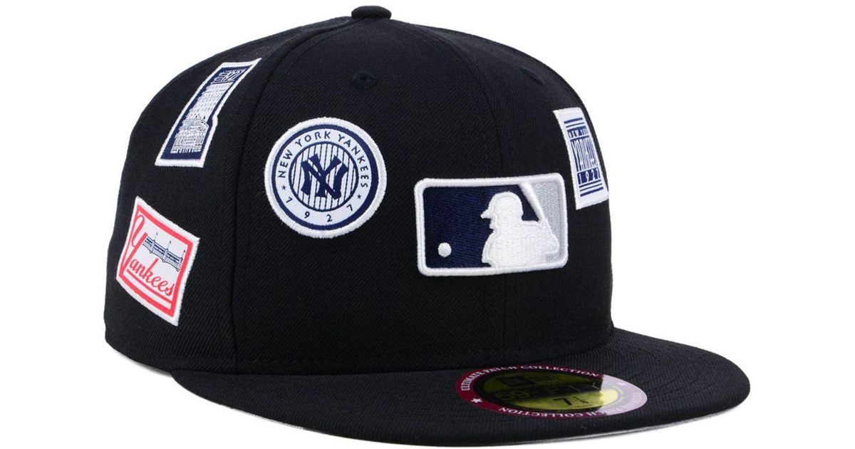the best attitude 38173 3644d KTZ New York Yankees Ultimate Patch Collection All Patches 59fifty Cap in  Black for Men - Lyst
